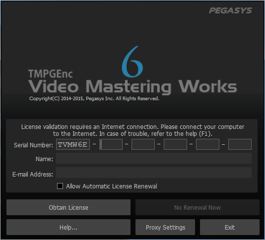 tmpgenc video mastering works 6 keygen 71